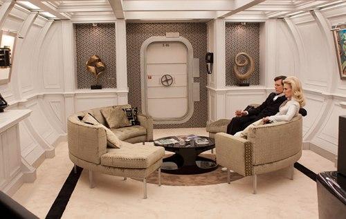 Mod 60s Interiors Yacht XMen First Class