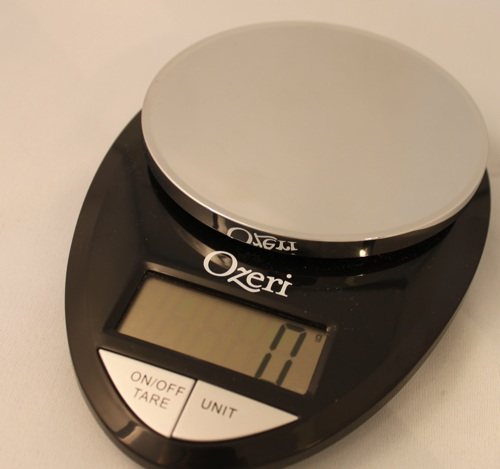 Ozeri pro digital kitchen food scale review being tazim for Professional food scale