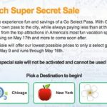 Go Select Pass Super-Secret Sale—Travel Attraction Passes Special BeingTazim Reader Code