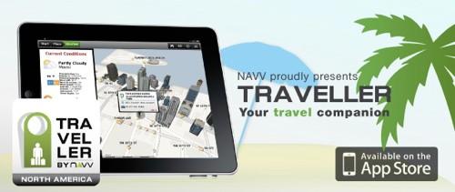 NAVV Traveller USA iPad2 App Review