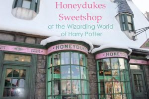 Honeydukes Sweetshop at Wizarding World of Harry Potter —Orlando Florida Travel