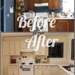 Renovation / Redecoration : Kitchen Cabinet Painting