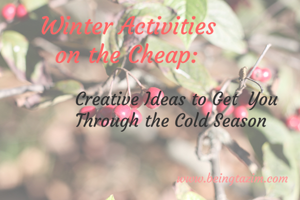 winter activities on the cheap
