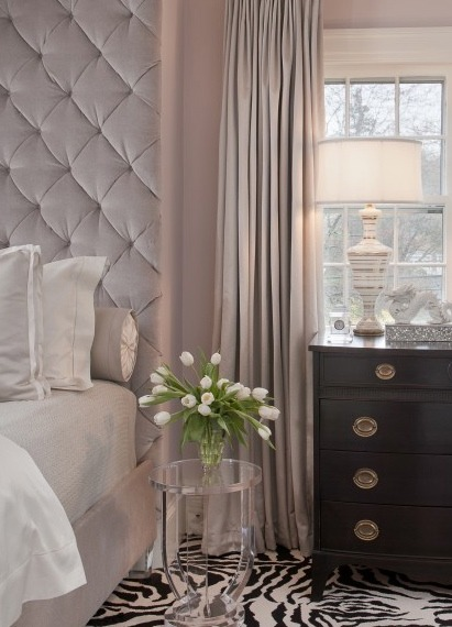 Hollywood Glamour Bedroom Décor - Being Tazim