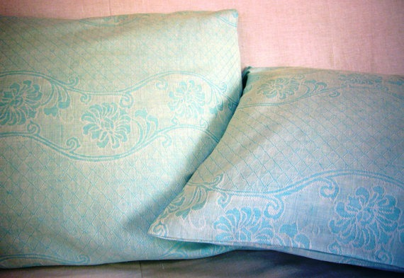 damask pillowcases