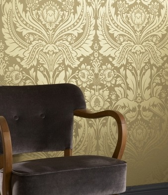 gold damask