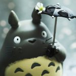 April Showers —My Neighbour Totoro Style