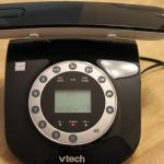 Mad Men Inspired Retro Cordless Phone from VTech