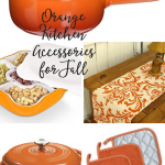 Orange Kitchen Accessories for Fall