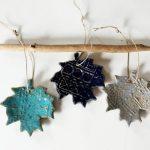 Handmade Fall Leaves