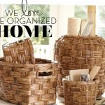 The Organized Home Inspired by Pottery Barn