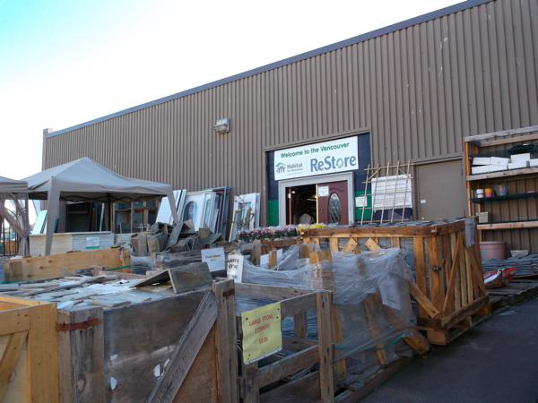 Vancouver habitat for humanity restore