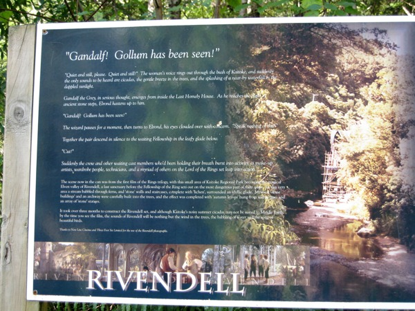rivendell sign