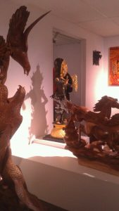 New Balinese Wood Carvings at the Fragrant Wood Gallery Vancouver