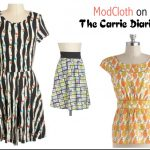 ModCloth on the Carrie Diaries