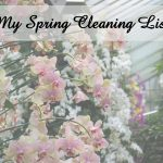 Spring Cleaning List: My To-Do List