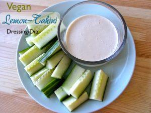 Vegan Lemon-Tahini Dressing/Dip