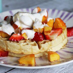 Vegan Belgian Waffles