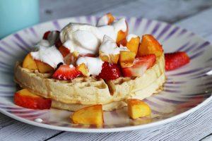 Vegan Belgian Waffles Recipe