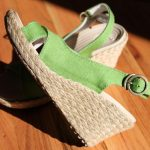 Celebrating Sunshine with Cool Linen Wedges by Crocs