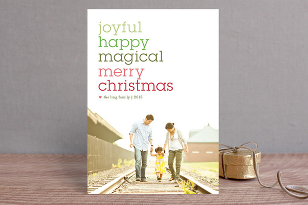 Minted Photo Christmas Cards