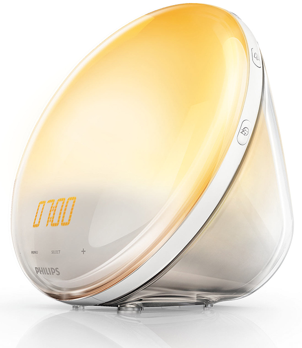 philips wake up light thanks to receiving one this light therapy. Black Bedroom Furniture Sets. Home Design Ideas