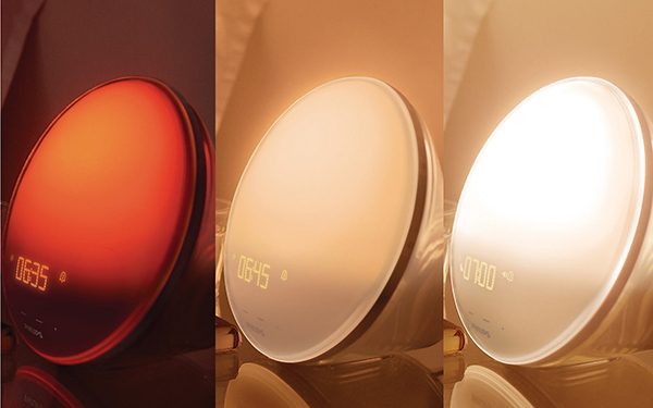 fight those winter blues with a light therapy alarm clock from philips. Black Bedroom Furniture Sets. Home Design Ideas