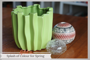 Add a Splash of Colour for Spring