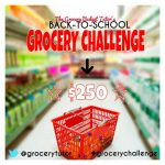 Grocery Budget Tutor and a Grocery Challenge