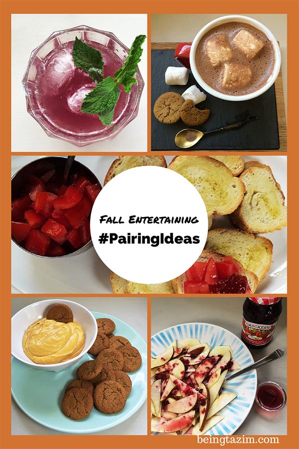 Fall entertaining pairing ideas