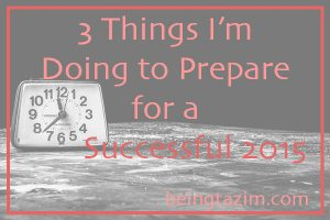 3 things successful 2015