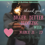 Thank You for 5+ Years of Blogging!