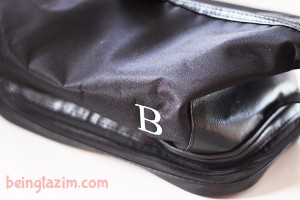 Great Gift Idea: Personalized Toiletry Bag