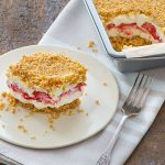 Berry Crumble Ice Box Cake Recipe + Giveaway (US/Canada)