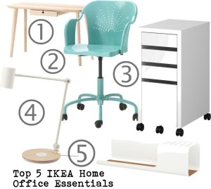 Top 5 IKEA Home Office Essentials
