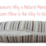 5 Reasons Why a Natural Memory Foam Pillow is the Way to Go