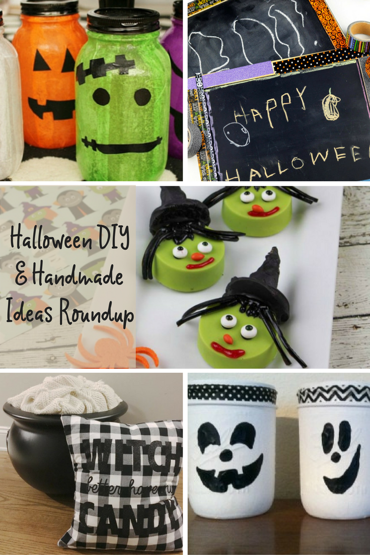 Halloween DIY Handmade Ideas Roundup