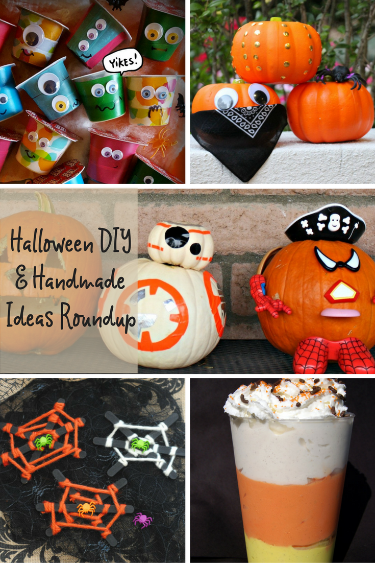 Halloween DIY and handmade ideas roundup
