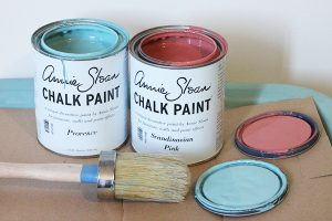 Annie Sloan Chalk Paint Vanity DIY Project