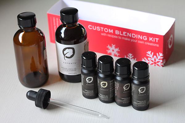 Custom blending kit