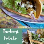 Tandoori Potato Naan Wrap