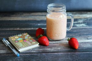 Strawberry Peach Smoothie Recipe