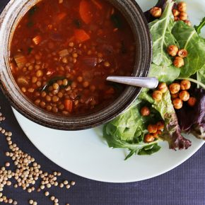 Vegan Curry Lentil Soup