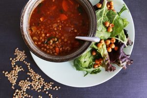 Easy Dinner Ideas with Pulses (+ Vegan Curry Lentil Soup Recipe) #FamiliesLovePulses