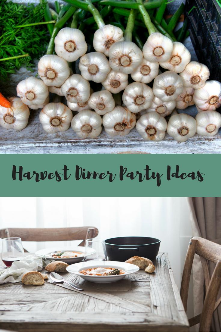 Harvest Dinner Party Ideas