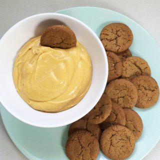 Vegan Pumpkin Cream Cheese Dip