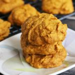 Easy Vegan Pumpkin Cookies (Dairy Free)