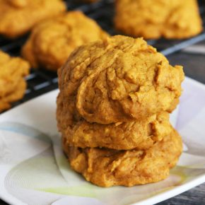 Easy Vegan Pumpkin Cookies