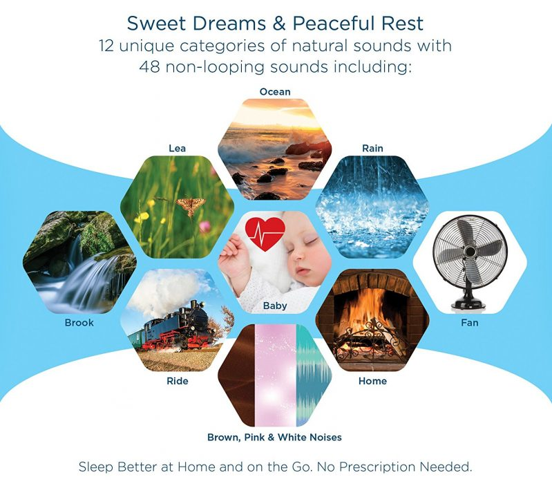 Sound+Sleep mini sound therapy machine
