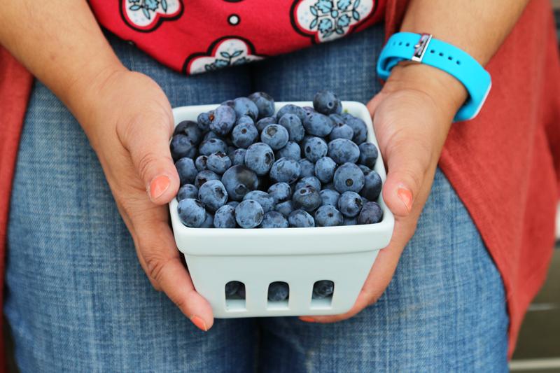 Vegan Blueberry Danishes - Tazim Damji